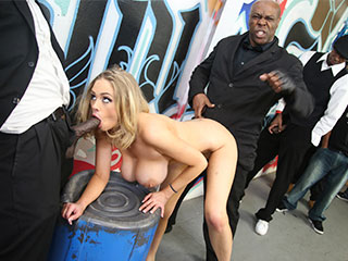Katie Kox from InterracialBlowbang.com