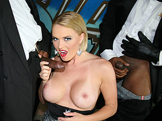 Krissy Lynn from InterracialBlowbang.com
