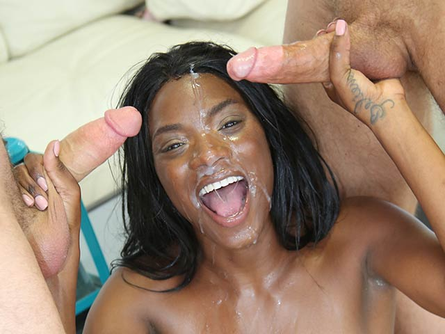 Ana Foxxx from WeFuckBlackGirls.com