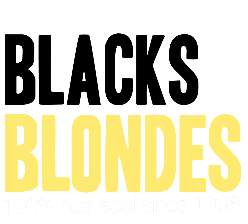 Blacks On Blondes Official logo
