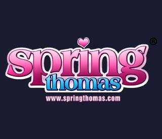 SpringThomas.com included with your BlacksOnBlondes.com Membership