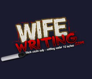 WifeWriting.com included with your BlacksOnBlondes.com Membership