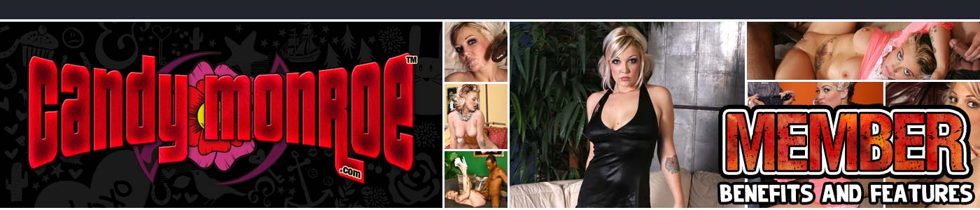 CandyMonroe membership includes banner