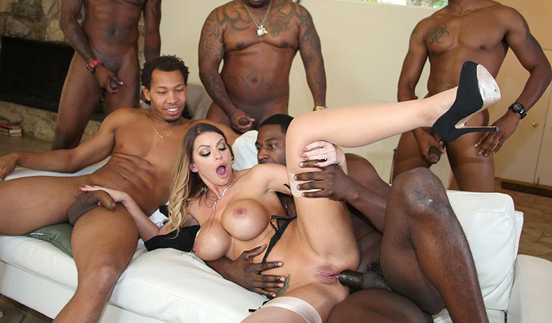 Brooklyn Chase - blacksonblondes.com